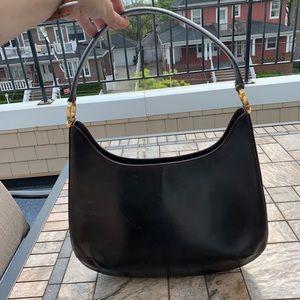 Salvatore Ferragamo Vintage Brown Hobo Leather Bag